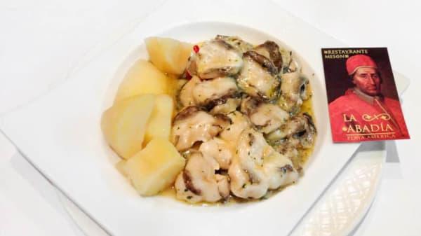 Sugerencia del chef - La Abadía Nigrán, Nigran