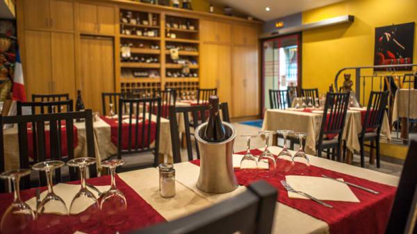 Salle du restaurant - La Table d'Oc, Menton