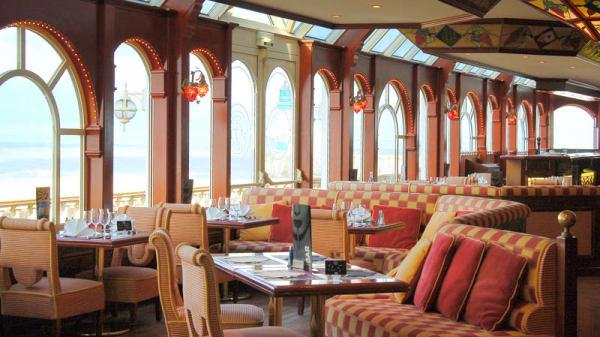 La salle du restaurant - Casino JOA - Le Tréport (être majeur + pièce identité demandée), Le Tréport