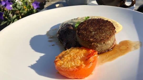 Ribeye steak with Haggis - Schots Rest. en Whiskybar, Stadsboerderij de Koebrug, Stavoren, Stavoren