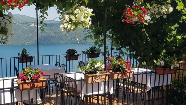 Garden fronte lago - Ristorante Bucci, Castel Gandolfo