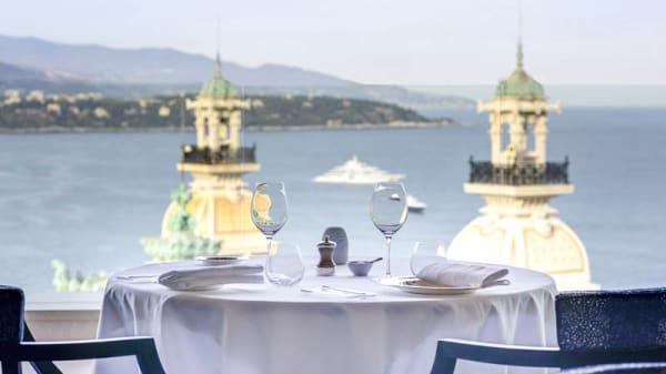Salle vue mer - Le Grill, Monaco