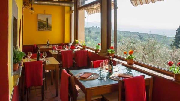 Terrazza panoramica sulle colline toscane - La Sosta del Rossellino, Florence
