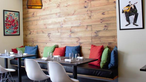 sala do restaurante - Tasca do Francês, Lisboa