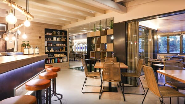 Entrada y barra - Restaurante La Greppia Marivent · Cala Major, Palma de Mallorca