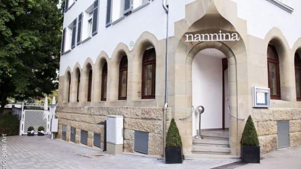 Eingang - nannina, Stuttgart