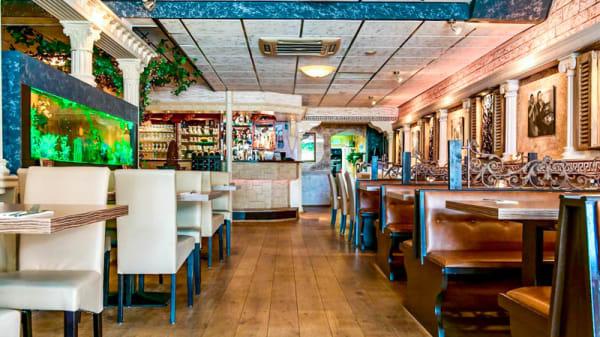 Het restaurant - Santorini, Waalwijk