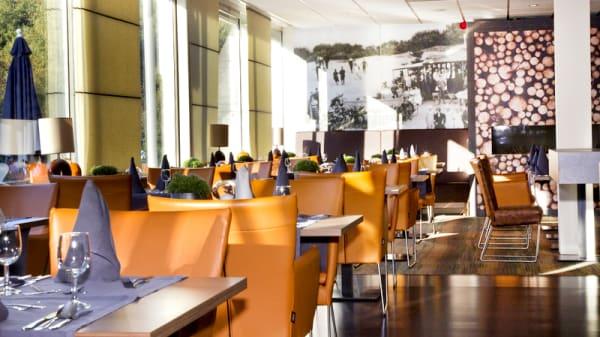 Het restaurant - Paviljoen Duinoord (by Fletcher), Zeegse