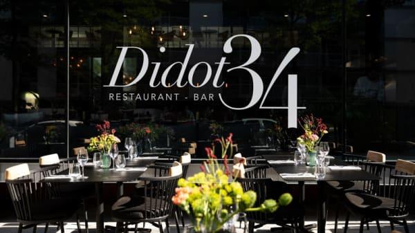 Het restaurant - Restaurant & Bar Didot34, Rotterdam