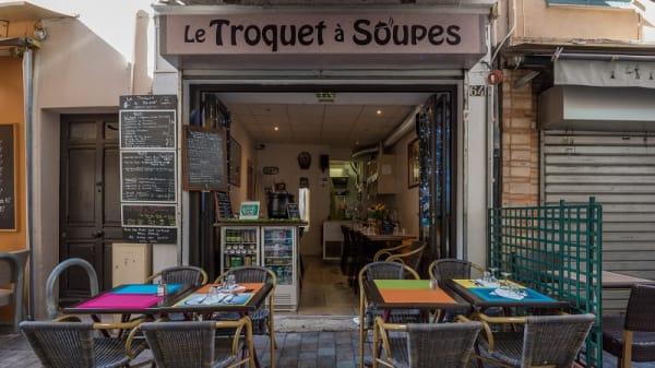 extérieur - Le Troquet à Soupes, Cannes