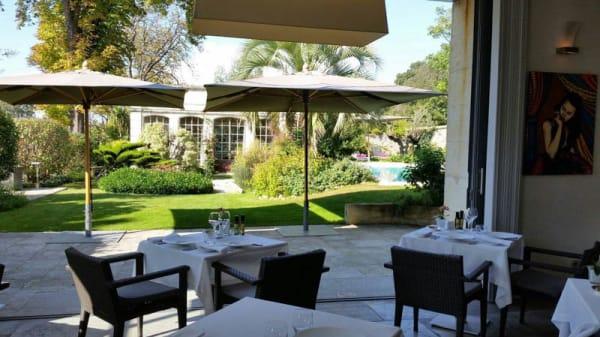 Terrasse - Restaurant Marcelle - Domaine de Verchant, Montpellier