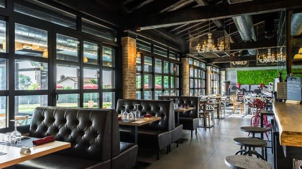 Vista sala - Horta Grill Bar, Tarquinia
