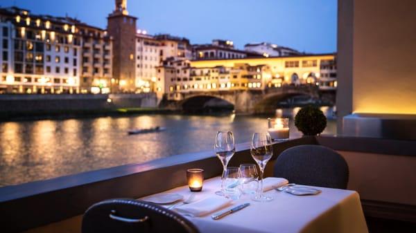 Sala del ristorante - Borgo San Jacopo, Florence
