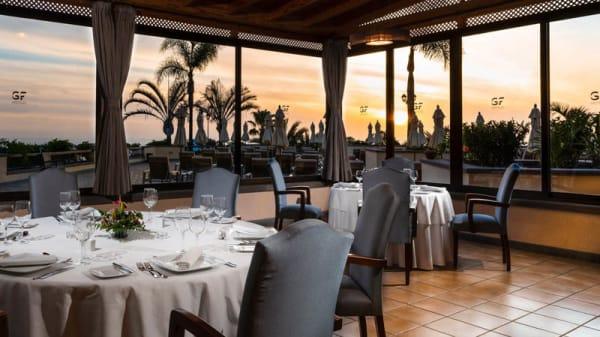 Vista puesta de sol - Grill La Laja, Costa Adeje